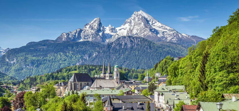Berchtesgaden und der Watzmann