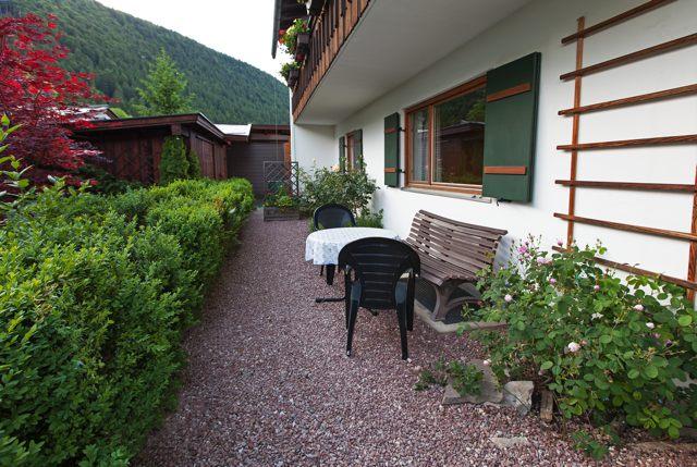 Ferienwohnungen Grill Terrasse Wohnung Anita 1